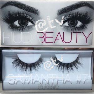 2/$25 HUDA Beauty Samantha 7 Classic Lashes NEW